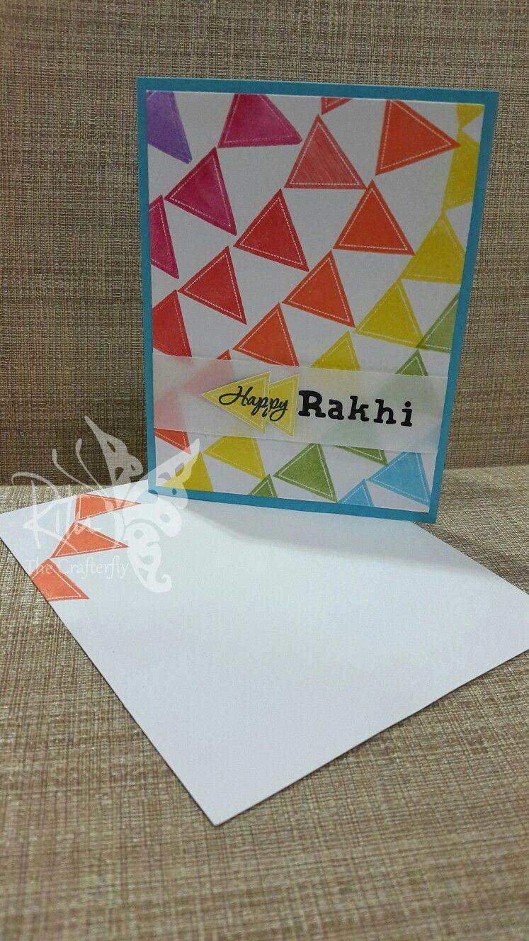 Card Making Ideas For Raksha Bandhan Part - 19: Raksha Bandhan Card For A Young Lad