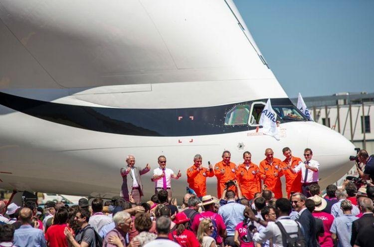 Airbus Beluga Xl Das Neue Frachtflugzeug Absolviert Erfolgreich