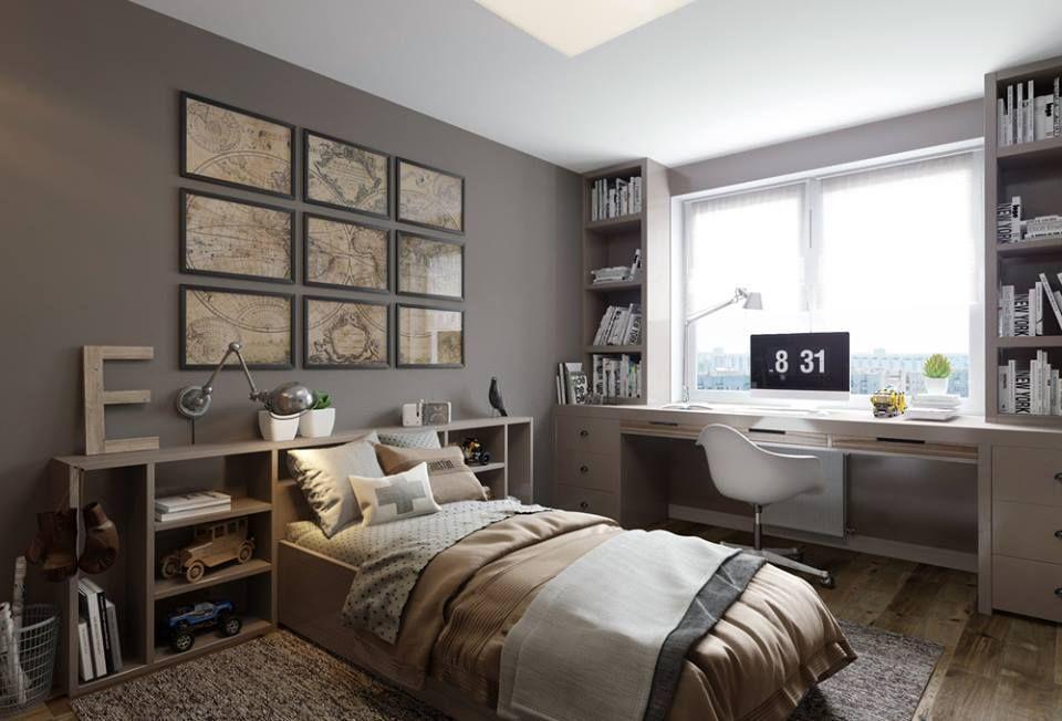 Camere Da Letto Maschili : Pin di alessandra su letto stanza da letto