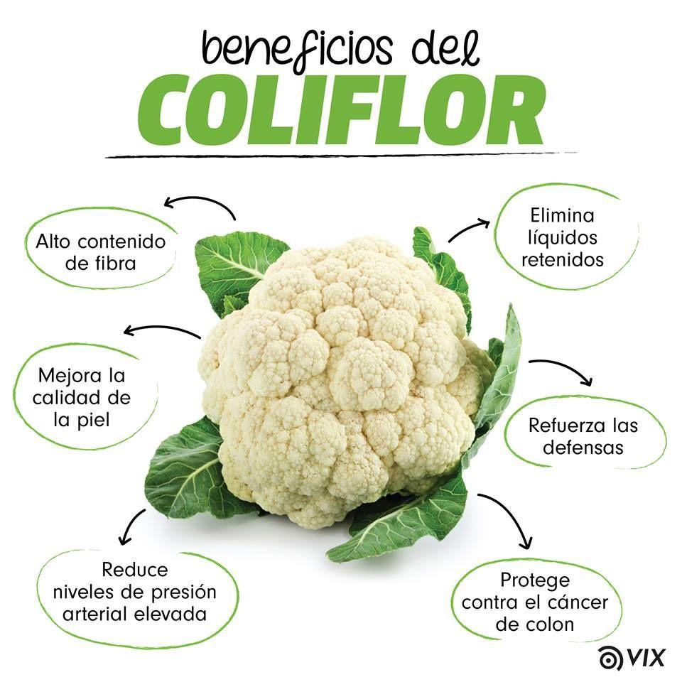 Beneficios Del Coliflor Health Benefits Of Carrots Fruit Health Benefits Manuka Honey Health Benefits