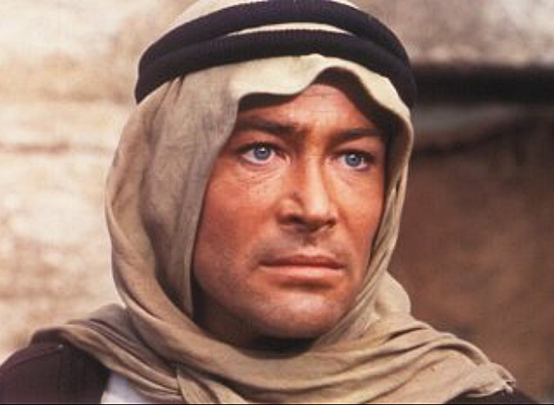 "Peter O'Toole en ""Lawrence de Arabia"" (Lawrence of Arabia), 1962"