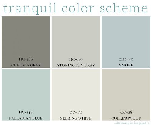 Tranquil Color Scheme Numb, Friends family and House