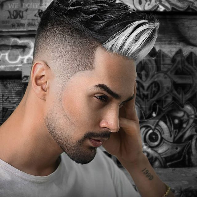 kurzhaar punk frisuren männer - frisur stil