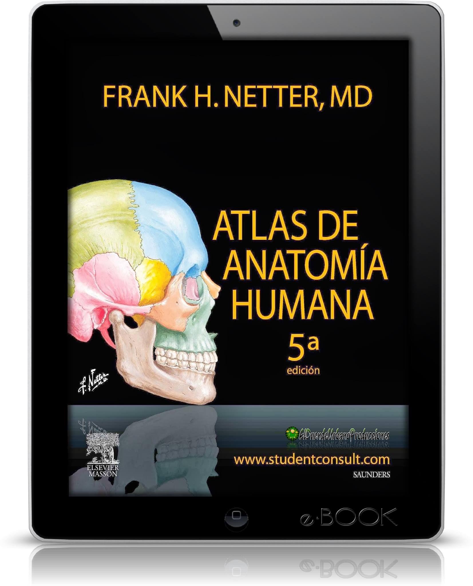 ATLAS DE ANATOMIA HUMANA l FRANK H. NETTER l 5TA. EDICION l LIBRO ...