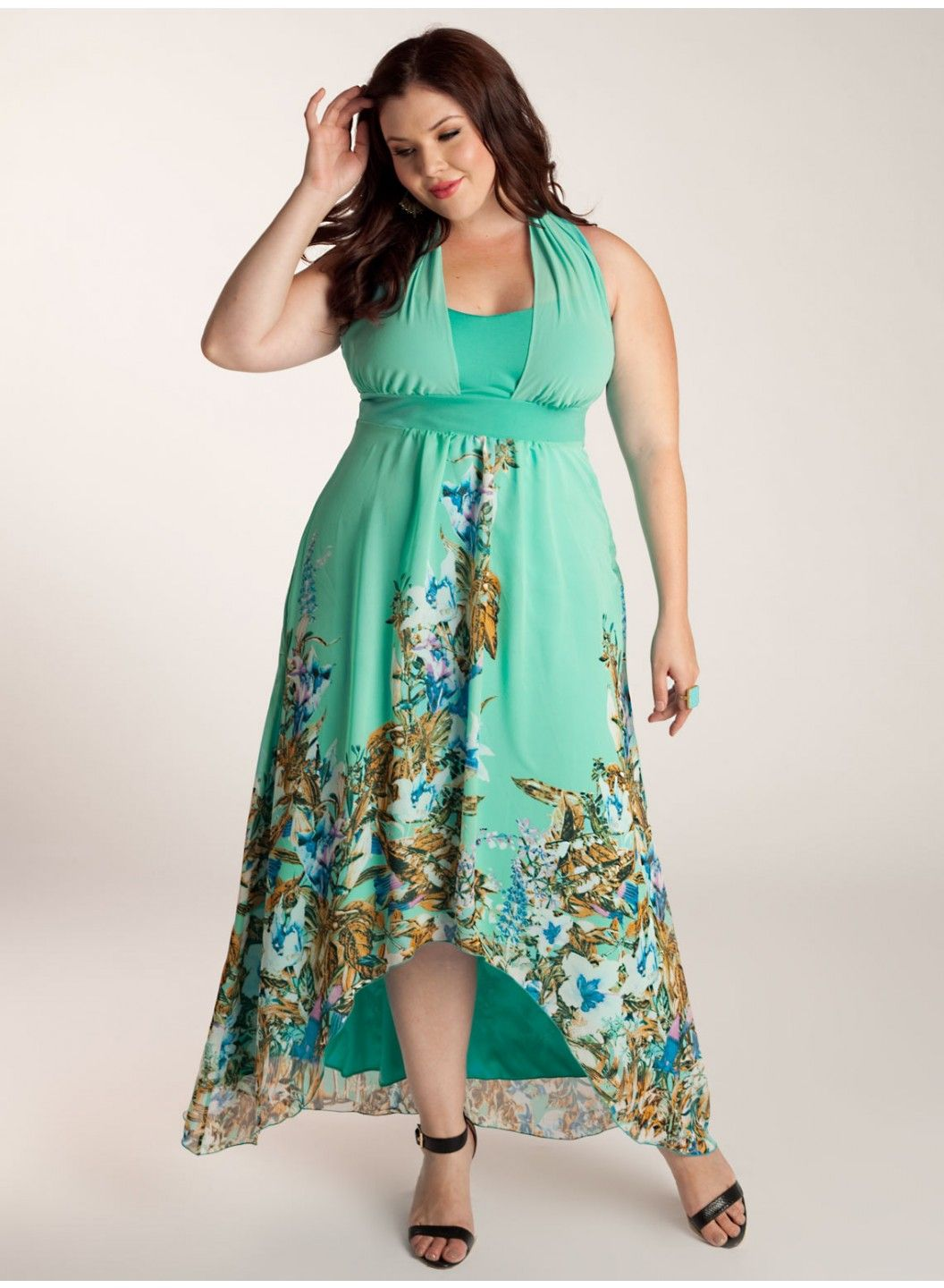 iggi-Olympia Plus Size Maxi Dress [3A0052JDE] - $190.00 ...