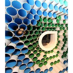 cardboard tubes with lights & colours - Google Search