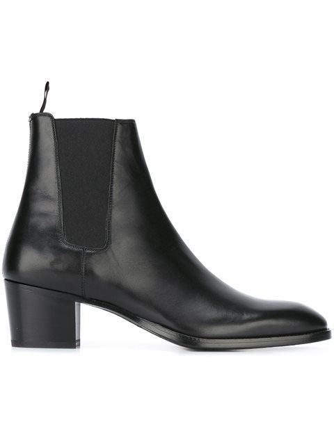 07e82336bdb Shop Saint Laurent 'Paris' ankle boots in Jeffrey New York from the world's  best independent boutiques at farfetch.com. Shop 400 boutiques at one  address.