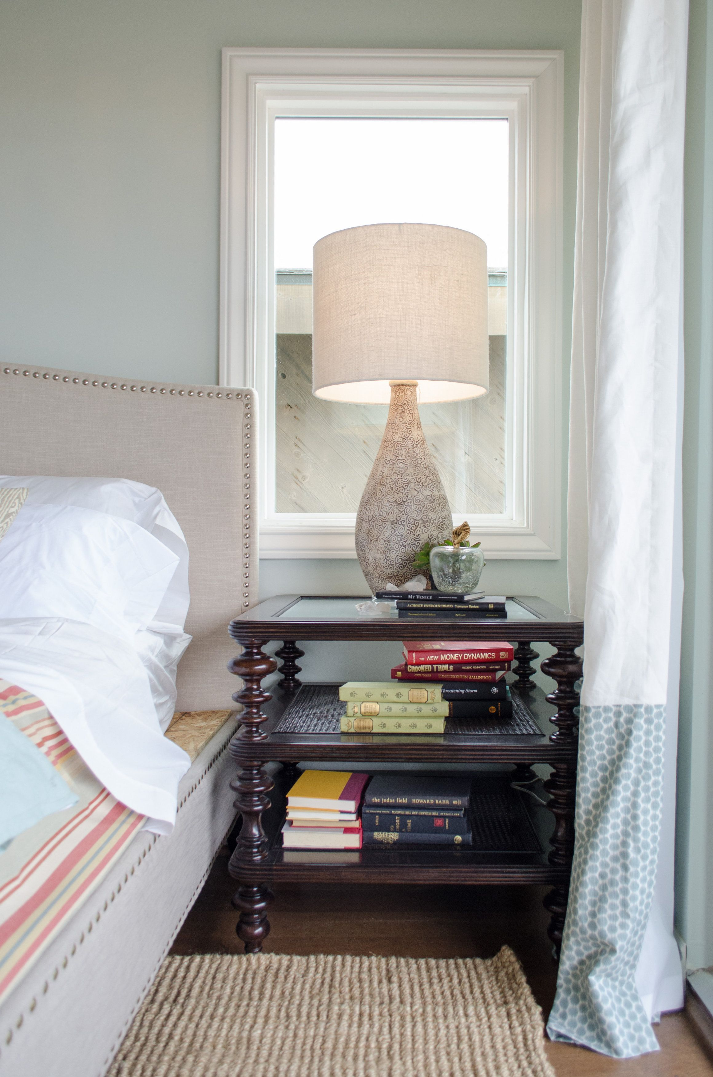 Mirrors Behind Bedside Tables: Put Mirrors Behind Bedside Tables If You Don't Have