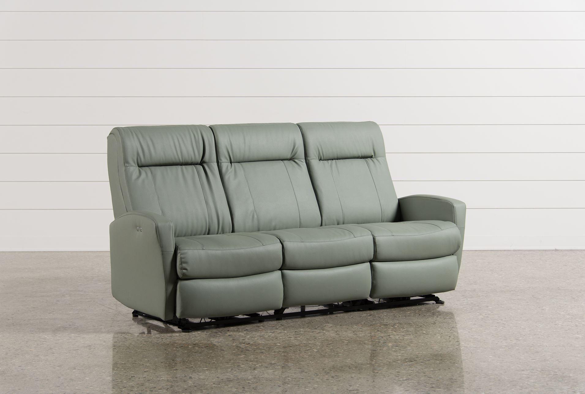 Elegant Zachery Power Reclining Sofa   Signature