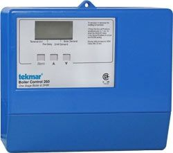 Tekmar 260 Boiler Control One Stage Boiler Dhw Heat