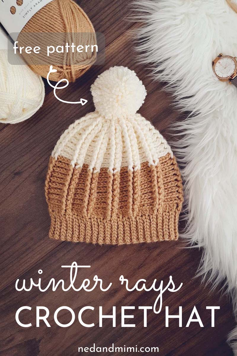 Add Hats To Photos Free : photos, Winter, Ribbed, Crochet, Pattern, Hats,, Pattern,