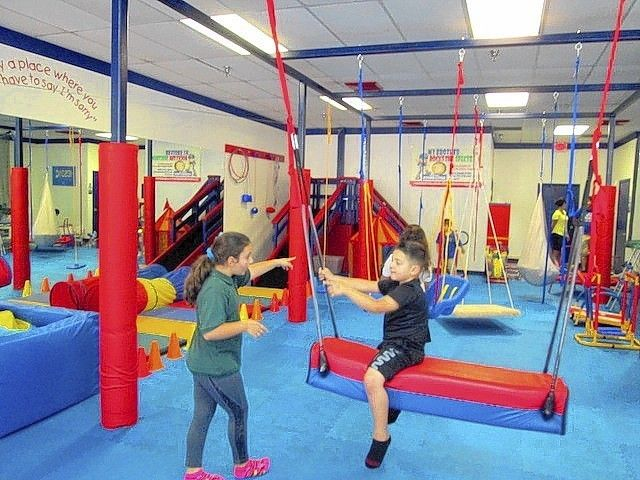 Indoor gym opens for children with autism others ot