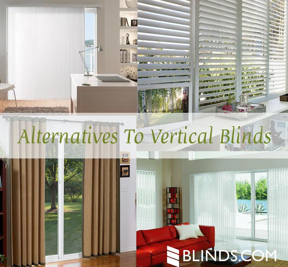 Pocket Door Alternatives blinds for sliding glass doors - alternatives to vertical blinds