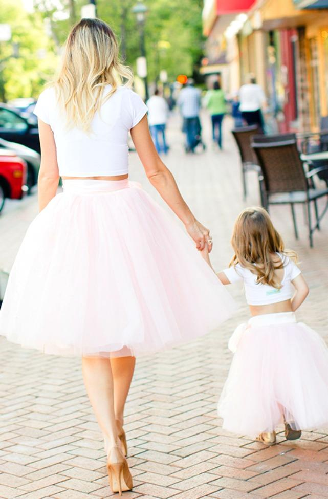 2d6df23f99 Mommy and Me Outfits | Baby Doll Ball Skirts | Mommy and Me Photo Shoot.