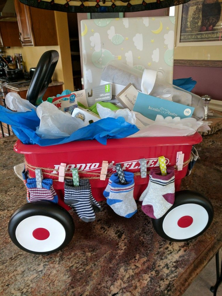 Baby shower gift idea. Welcome Wagon | Clever baby shower ...
