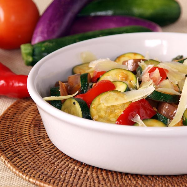 20 Creative Vegetarian Eggplant Recipes: French Style Mixed Vegetable In Tomato Based Stew