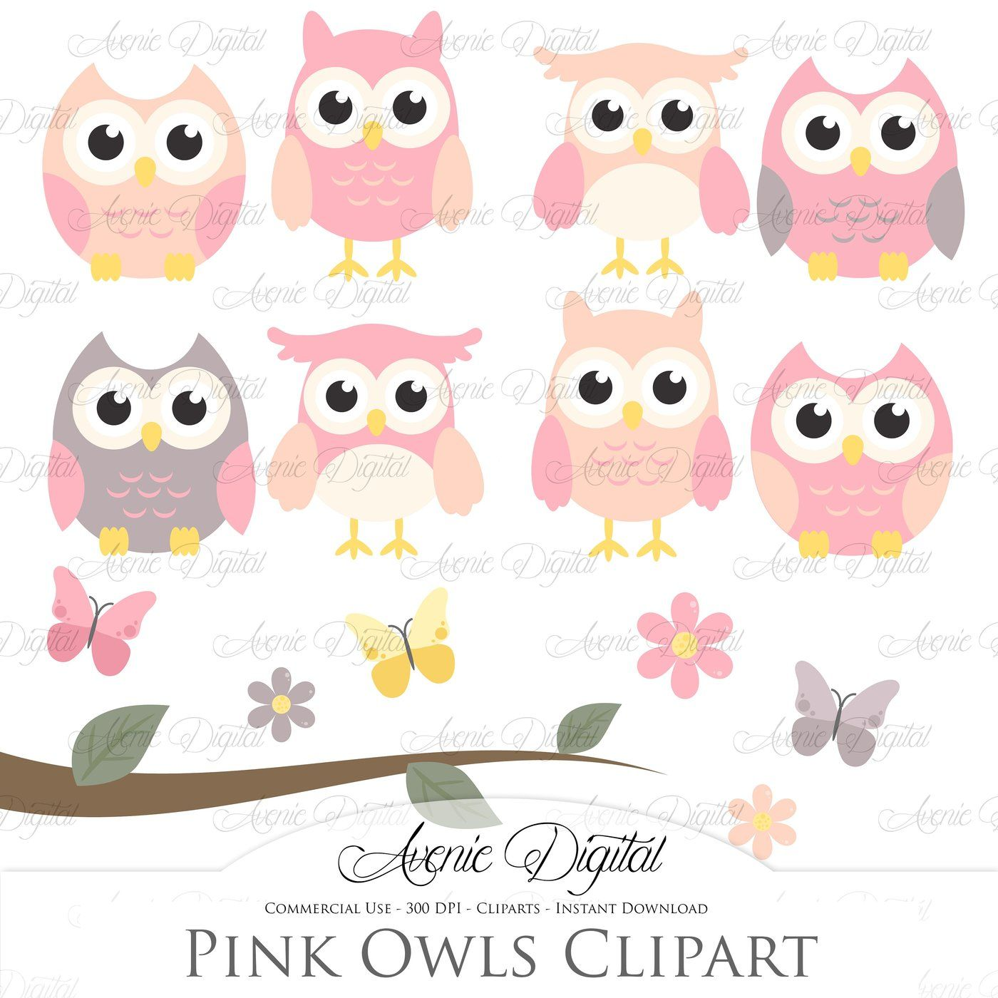 April owl. The gigantic craft bundle