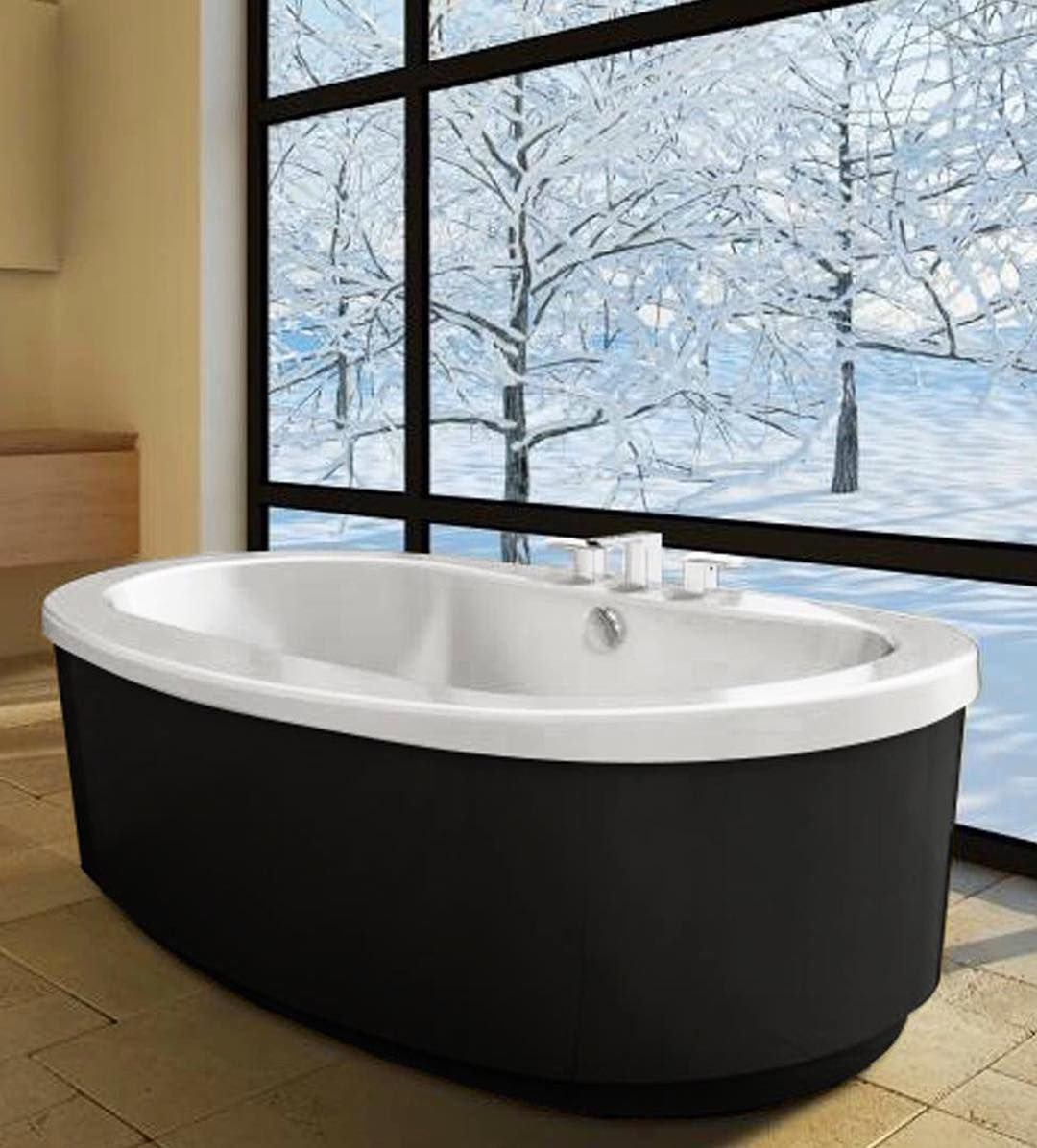 The Bravo Freestanding Bath Makes The Perfect Spot To Defrost After