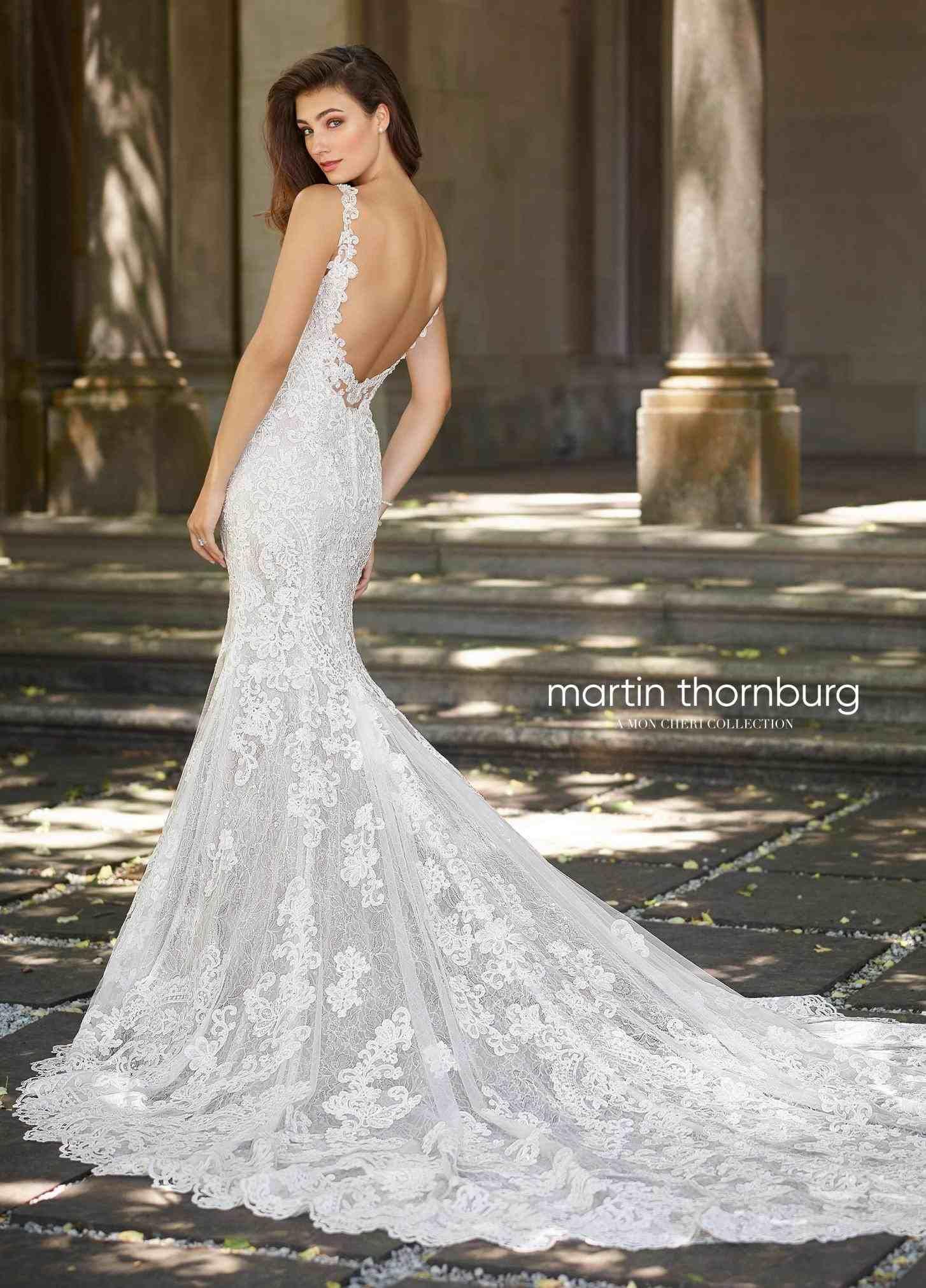 Open back wedding dresses lace  lace wedding dress low open back  Weddings  Pinterest  Lace