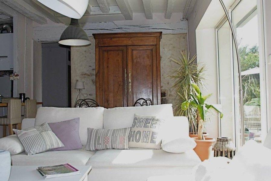 Déco maison ancienne moderne Exemples daménagements | deco sejour ...