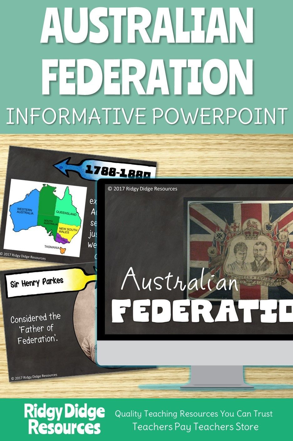 Year 6 Australian Federation Informative Powerpoint and