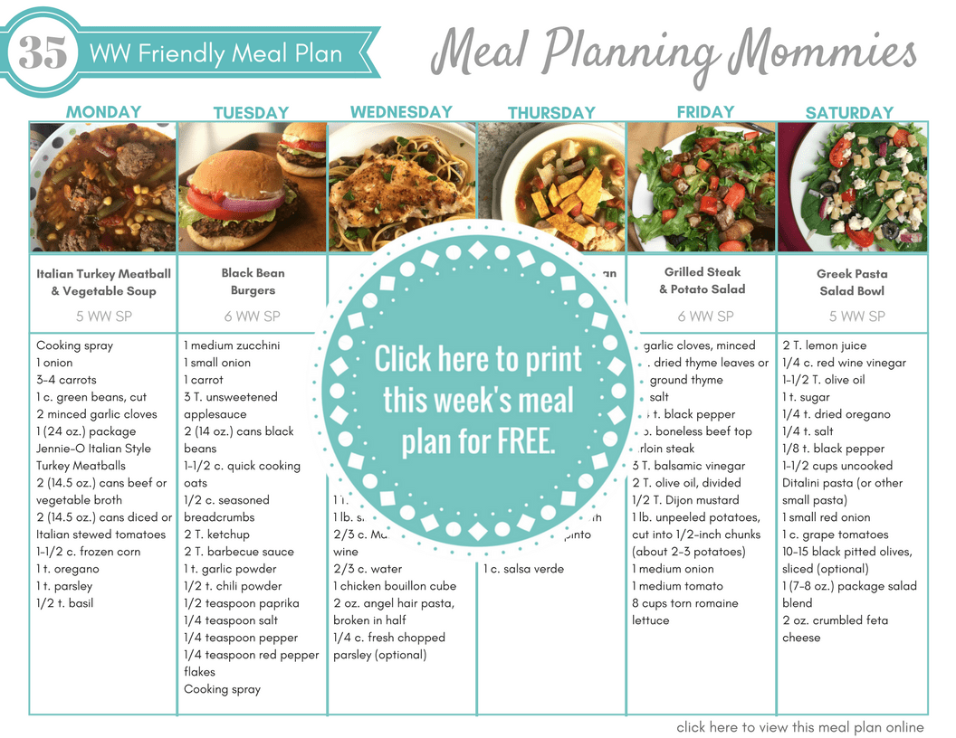 Pin On Weight Watcher Main Dishes