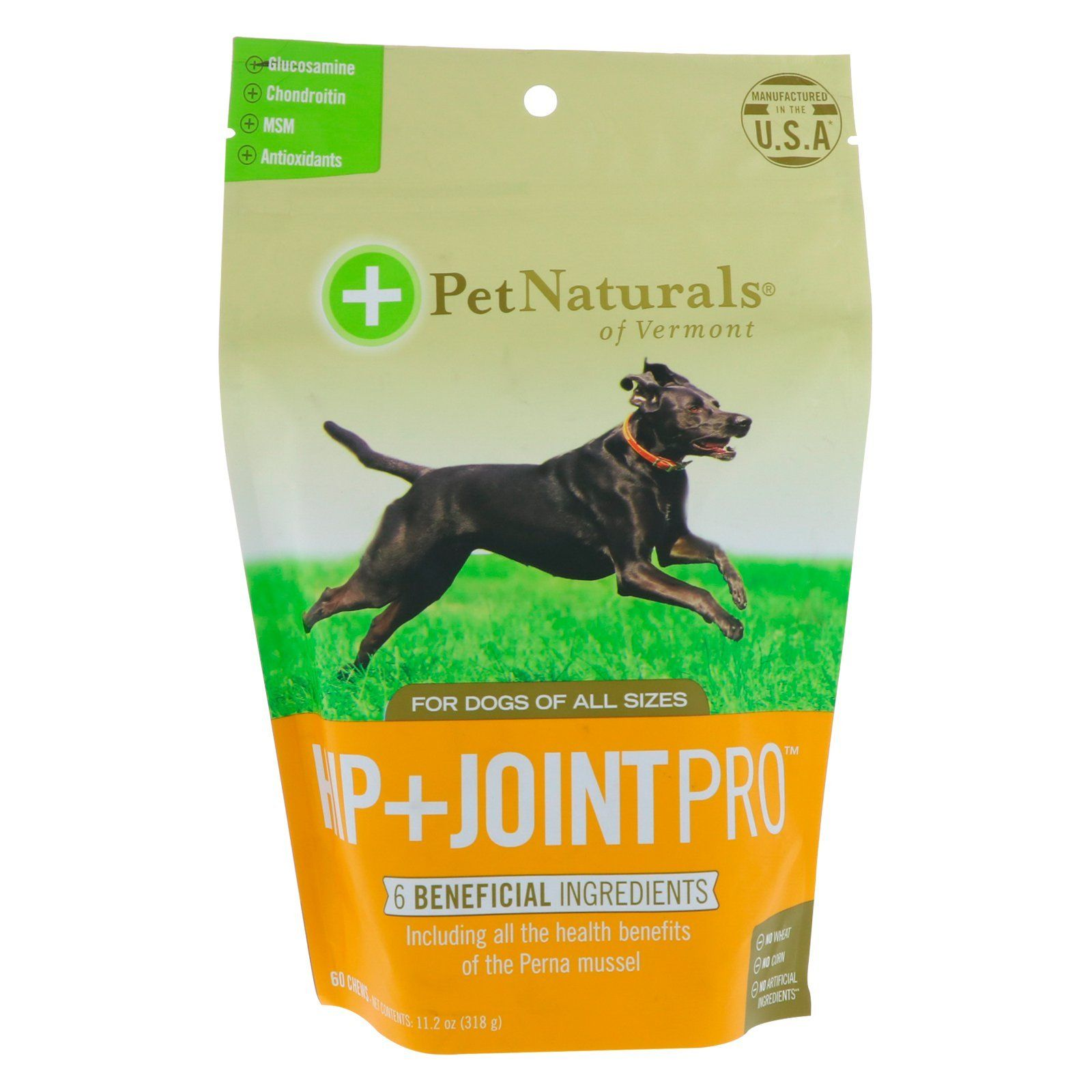Pet naturals of vermont hip joint pro for dogs 60