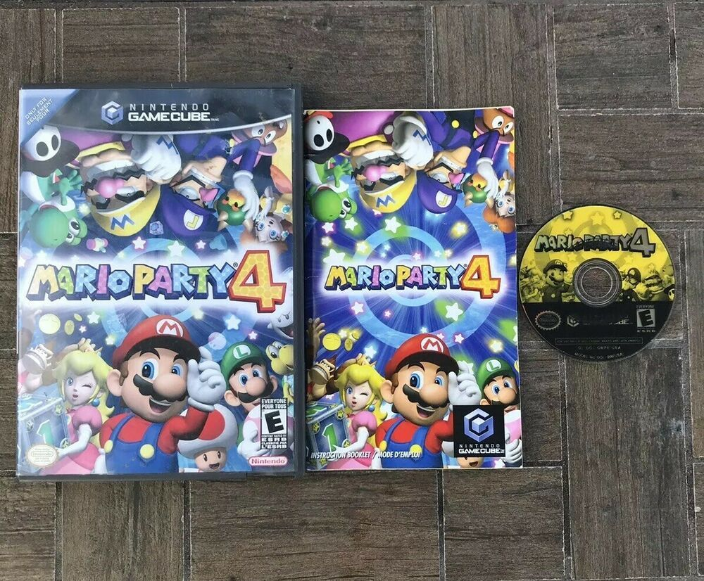 Mario Party 4 Nintendo Gamecube Complete With Manual Great Condition Nintendoswitch Nintendo Switch Mario Party Mario Party 7 Gamecube