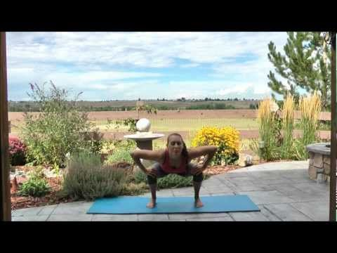 exercise video easy standing yoga flow part 1  workout