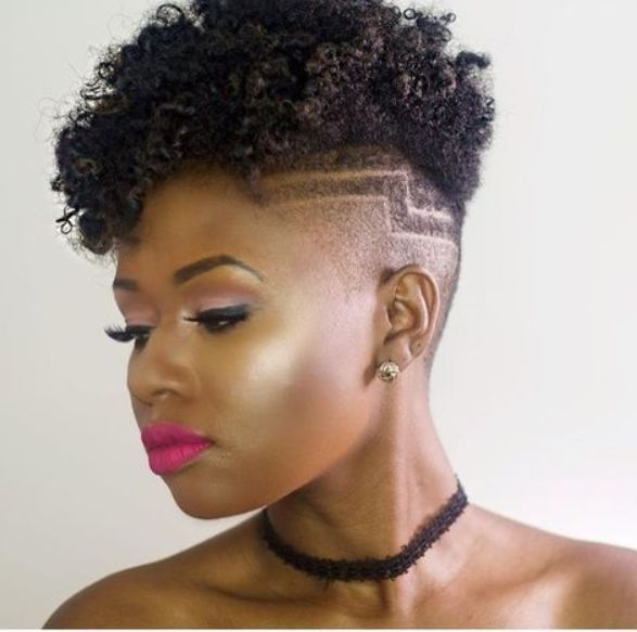 Short Natural African American Hairstyles Inspiring 12 Short Natural African American Hairstyles  Short
