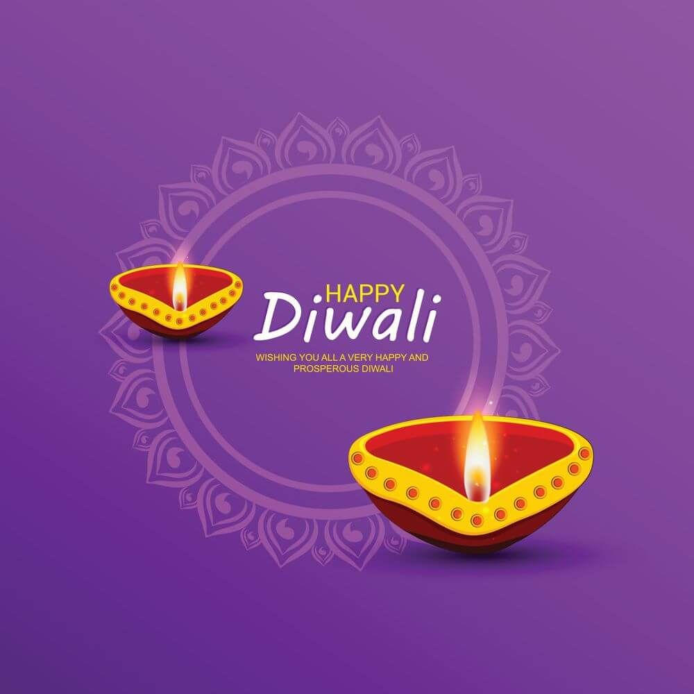Happy Diwali Greetings Images With Wishes & Quotes