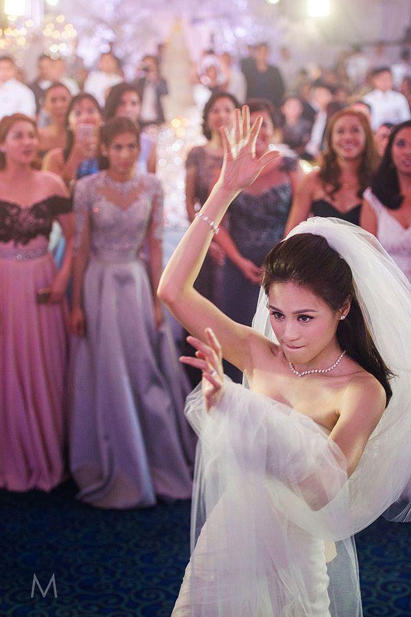 Celebrity Wedding Toni Gonzaga And Paul Soriano Wedding Reception