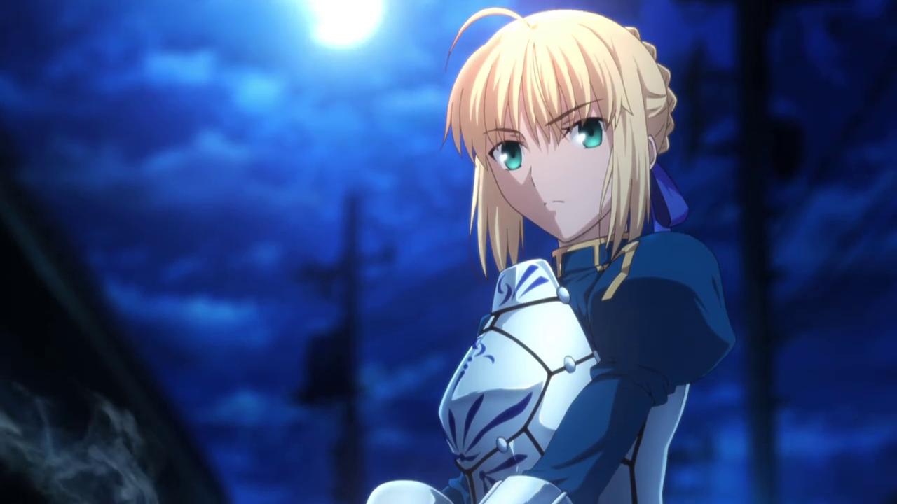 First Saber appearance on TV after several years. Fate