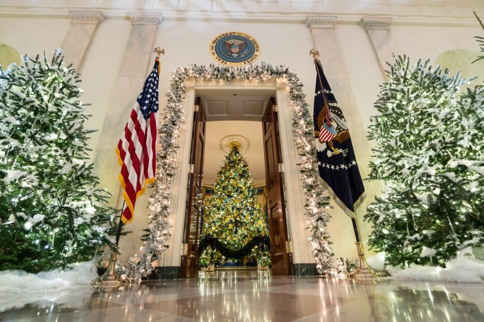 White House Christmas Tour 2017 Christmas in NY/DC