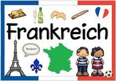Ideenreise Landerplakat Frankreich Frankreich Ideenreise Kinder Dieser Welt