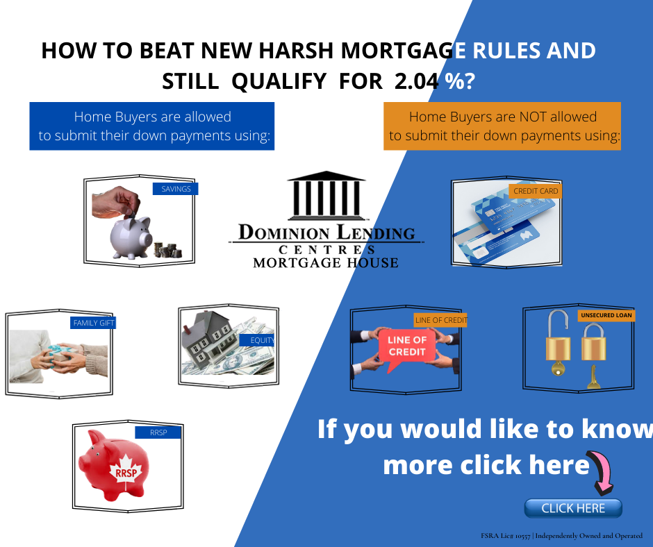 How To Beat New Harsh Mortgage Rules And Still Qualify For 2 04 In 2020 Personal Savings Credit Repair Unsecured Loans