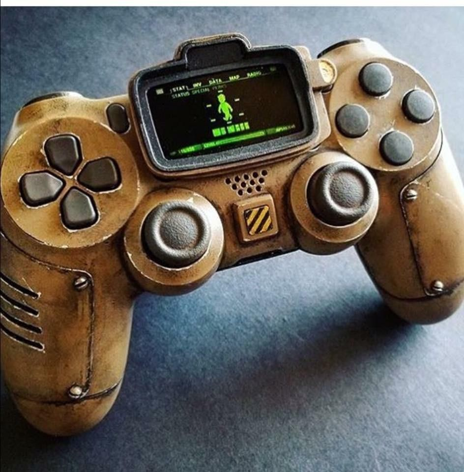 Ready For The Wasteland Http Ift Tt 2wozeqb Check Out Mystikz Gaming Http Ift Tt 2tvnfmj Video Game Tester Fallout Game Ps4 Controller