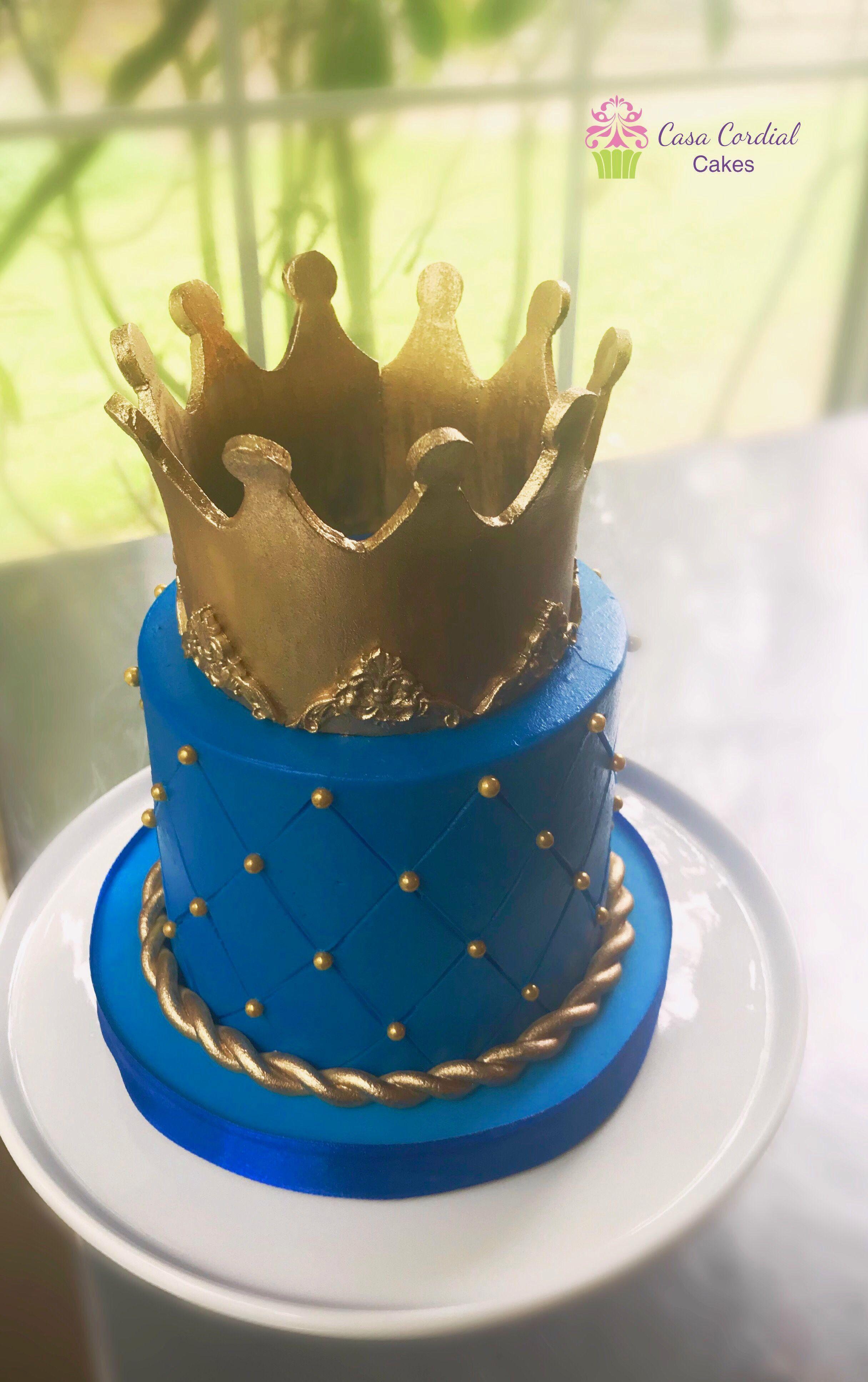 Awe Inspiring Royal Prince Cake Prince Cake Boy Birthday Cake First Birthday Funny Birthday Cards Online Inifofree Goldxyz