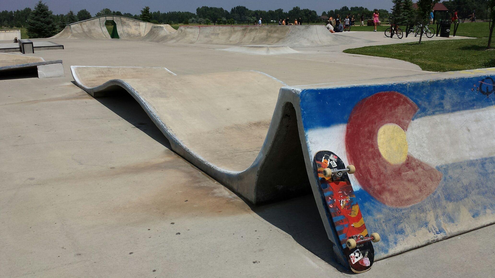 Fort Collins 2 Fort collins, Skate park, Skateboard
