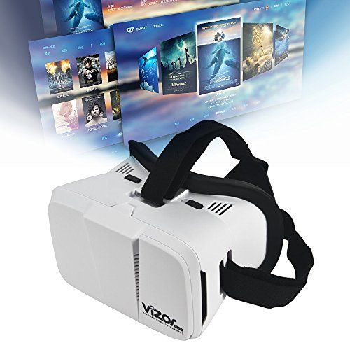 be62c18ec612 Virtual Reality Headset 3D VR Box Glasses for Movies Video Games for Apple  iPhone 7 6 6s 5 5s Samsung S8 S7 S6 S5 Edge and Other Smartphone    Short-Sighted ...