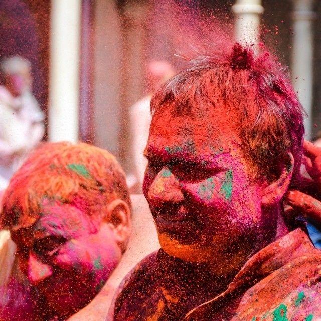 regram @himalmangla Holy Holi!! Another shot from #exuberant #Holi #celebrations at #Nandgaon  #holi #colors #vrindavan #mathura #humansofindia  #streetsofindia #face #portrait #ig_masterpiece #photography #India #travel #desi_diaries #_oye #_soi #incredibleindia #delhighted #delhigram #delhi_igers #sodelhi #instagood #amazingindia_ #photography #vsco #vscocam #india_gram #indiapictures