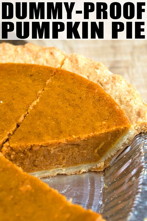 Best Pumpkin Pie Recipe- 5 Ingredients