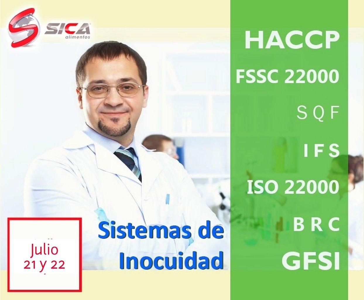 #AGENDA este 21 y 22 de Julio Curso Sistemas de Inocuidad en Cd de México, organiza SICA Alimentos mas eventos en: http://ow.ly/C8Y030do0Hb