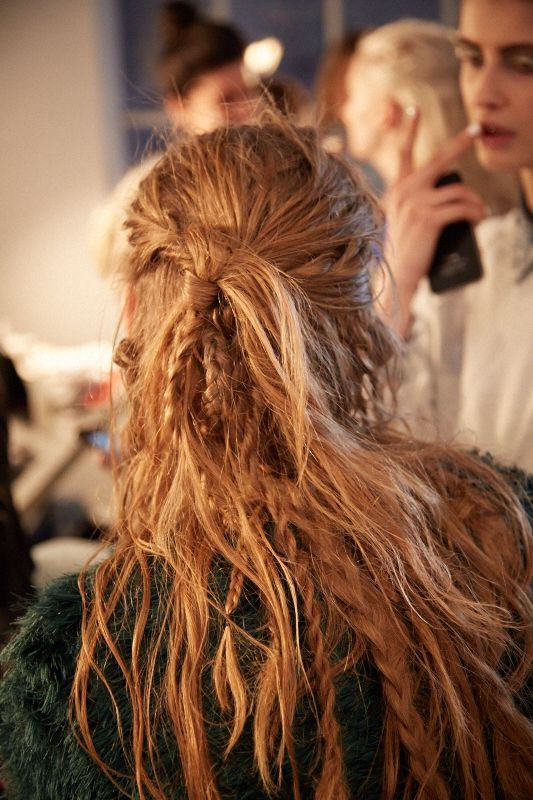 Zero + Maria Cornejo Fall-Winter 2014 #messybraids