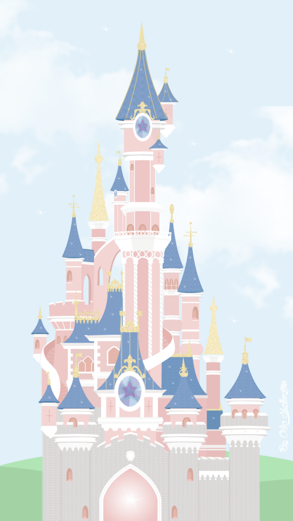 cinderellas disney castle ipad wallpaper