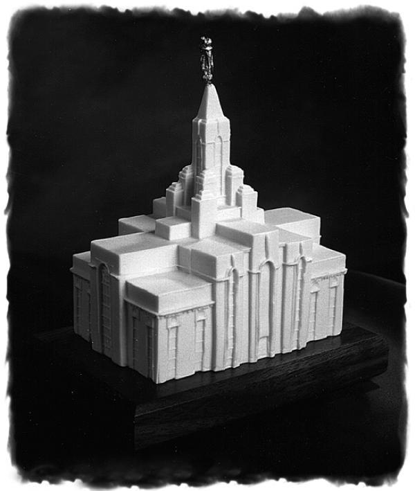 Mount Timpanogos Utah Temple cake topper
