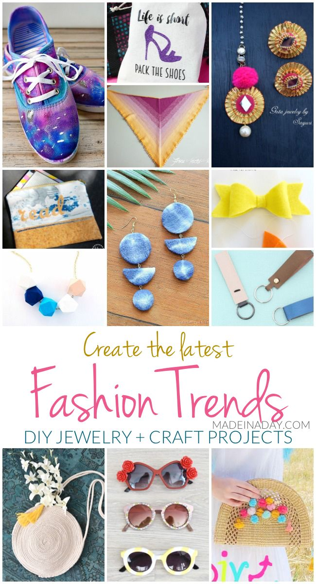 Create The Latest Fashion Trends Diy Jewelry Craft Projects Diy