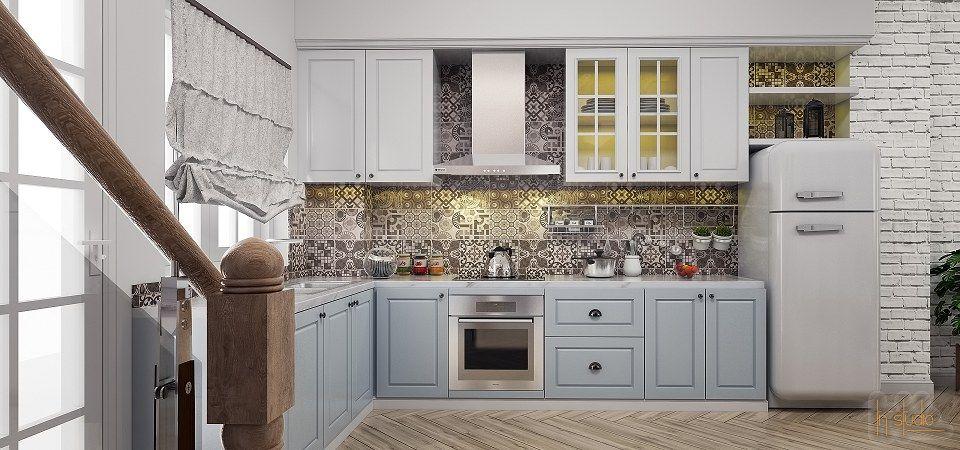 Kitchen & Visopt 3d model & Vray render by THAN NGUYEN