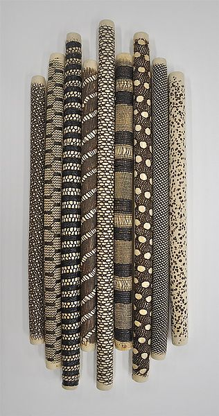 9-Piece Installation by Kelly Jean Ohl (Ceramic Wall ...