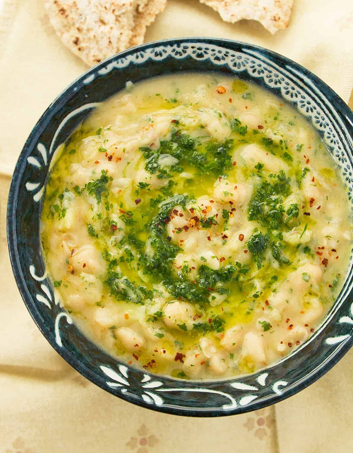 Photo of italian white bean soup